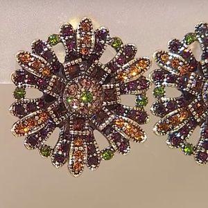 Heidi Daus ASTER'S PET PRETTY Crystal Earrings